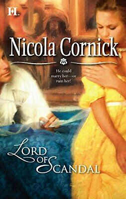 Lord of Scandal by Cornick, Nicola Book The Cheap Fast Free Post