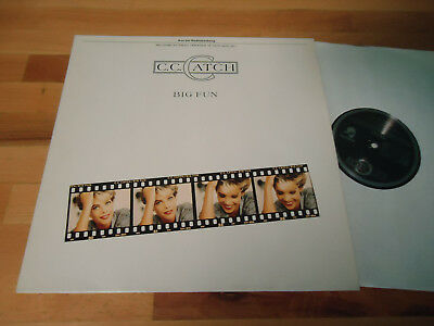Lp C.c.catch - Big Fun 1988 Hansa