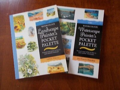 2 Watercolour Pocket Palette Books