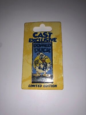 Disney Limited Edition Cast Exclusive Donald Duck Pin