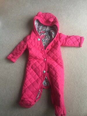 joules baby girl 3-6 months Snow Suit
