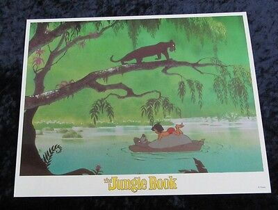 Walt Disney's The Jungle Book lobby card # 4 (90's Reissue Lobby Card)