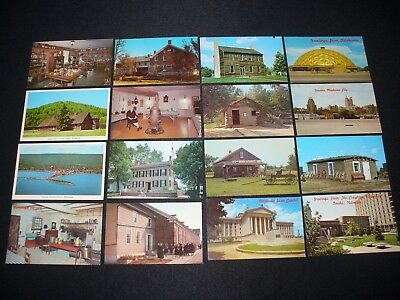 Lot of 48 Postcards Various States WI MN IL NE GA OK ++ Cities Countryside