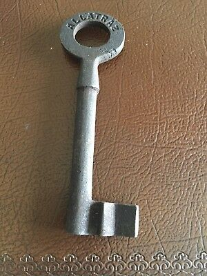Cast Iron Alcatraz Key Solid Metal Patina Finish Antique Style Prison Keys NR