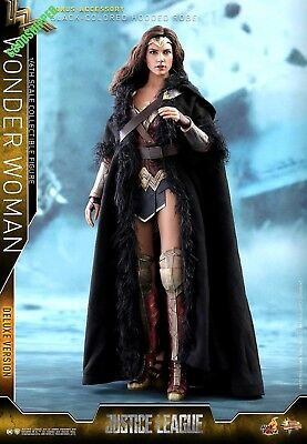 HOT TOYS DC COMICS JUSTICE LEAGUE Wonder Woman GAL GADOT DELUXE 1/6 ROBE NEW