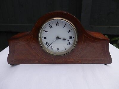 Japy Fres French Edwardian Mantel Clock Circa 1930 Fully Working With Key