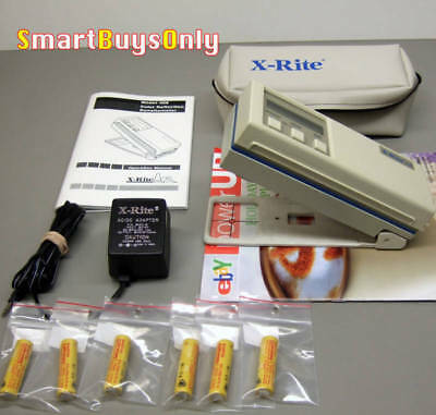 X-Rite 408 Color Reflection Densitometer Excellent condition XRite.