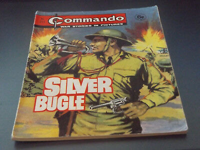 Commando War Comic Number 711!!,1973 Issue,v Good For Age,45 Years Old,v Rare.