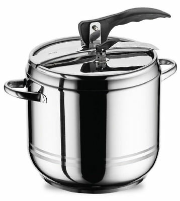 5 L Stainless Steel Stovetop Pressure Cooker Casserole Stockpot Induction Base