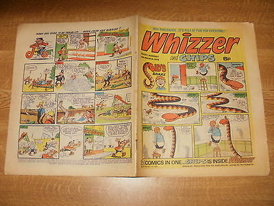 March 6th 1976, WHIZZER & CHIPS, Paul Crask, Roy Couper, Alan Melton, Mark Allen