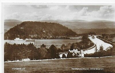 VINTAGE Real Photograph Postcard Tomnahurich, Inverness Unposted