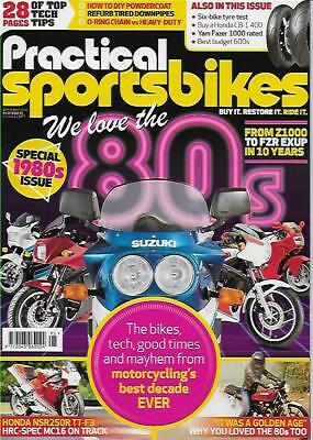 PRACTICAL SPORTSBIKES N.95 (NEW COPY)*Post included to UK/Europe/USA/Canada