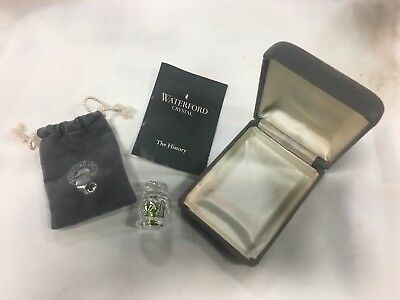 WATERFORD Fine Cut Crystal Thimble IRELAND Collectible Sewing Notion