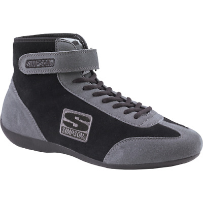 Simpson Midtop Driving Car Racing Shoes Sfi5  6 7 8 9 10 11 12 13 Uk Fire