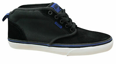 Vans Atwood Mens MLX Black Lace Up Mid Shoes Trainers Black NJP8AY B38A