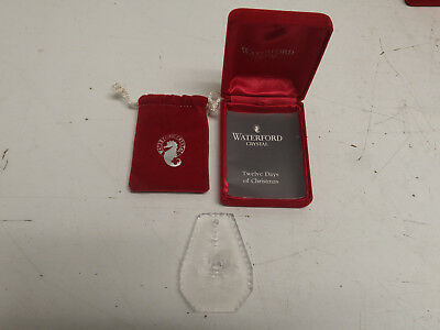 Waterford Crystal 1991 Cristmas Ornament