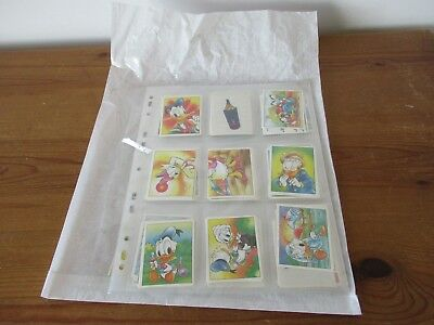 Panini 1996 That's Donald complete set of stickers