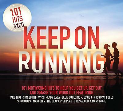 101 HITS KEEP ON RUNNING: 5CD SET (New Release August 10th 2018)