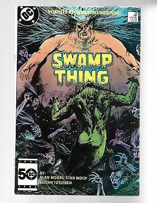 SWAMP THING Vol.2 #38 1985 2nd John Constantine FN 6.0.