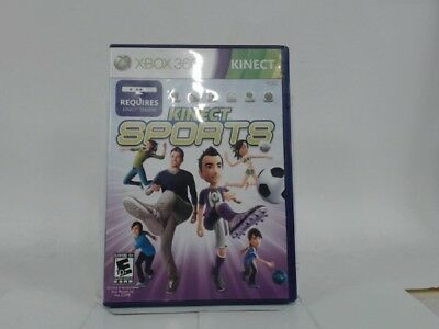 Kinect Sports Xbox 360 Complete In Box W/ Manual Cib Very Good