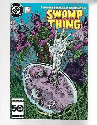 SWAMP THING Vol.2 #39 1985 3rd John Constantine Alan Moore VF 8.0.