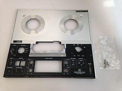 Sony TC-377 Stereo Open Reel Tape Recorder - Front Plate - Parts Only