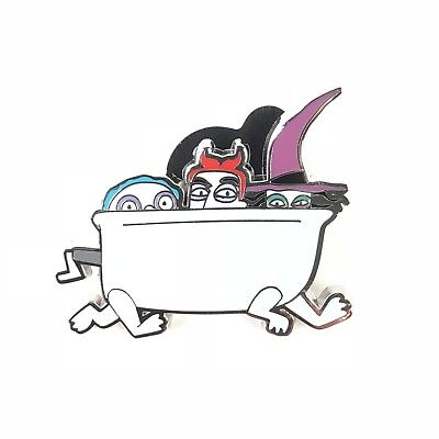 The Nightmare Before Christmas Lock Shock and Barrel Bathtub Disney Pin