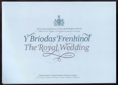 GB 2018 The Royal Wedding Limited Edition Stamp Souvenir Miniature Sheets plus..