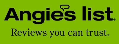 5x 5 Star Angieslist Review for business SATISFACTION GUARANTEED