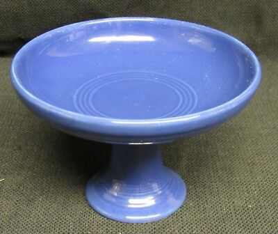 "Fiestaware Fiesta 3.5"" Tall Footed Blue Sweets Compote V821"