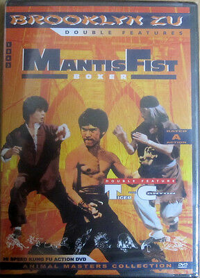 Mantis Fist Boxer/Tiger from Canton [Double Feature] - Kung Fu - Karate DVD