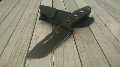 T.O.P.S. KNIVES Sudden Impact Tops Böker Messer Knife Gear Strider Tad Real N690