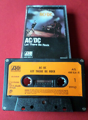 AC/DC - Let There Be Rock - MC Audio Cassette (450 366-X Made in Germany)