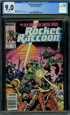 Rocket Raccoon 1 CGC 9.0 - White Pages