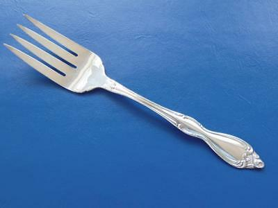 Wm A Rogers OLD SOUTH II Cold Meat Serving Fork Oneida Silverplate 1949