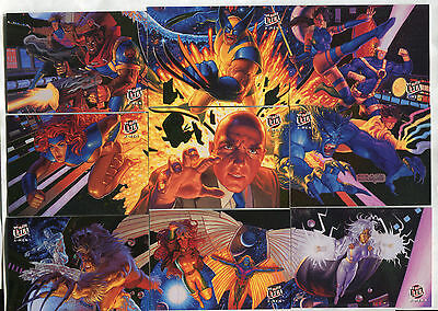 1994 Ultra X-Men Set 1-150 plus Team Portrait Set 1-9 both complete