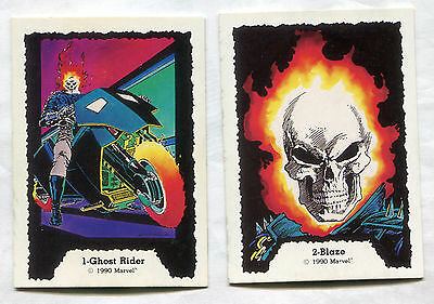 1990 Marvel Ghost Riders Set 1-45 Complete