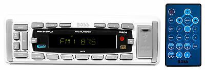 Boss MR1315WUA Marine Boat Digital Media Receiver w/MP3/AM/FM/USB/SD/AUX+Remote