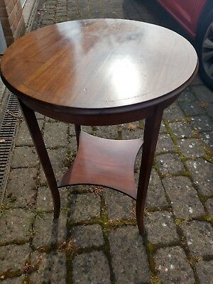 Antique Edwardian Occasional Table Round Good Condition