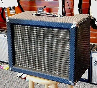Vintage 1964 Ampeg EJ-12A Echo Jet All Tube 1x12 Combo Amp! Serviced!