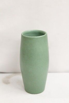 Arts Crafts Red Wing Matte Green Cabinet Art Pottery Vase