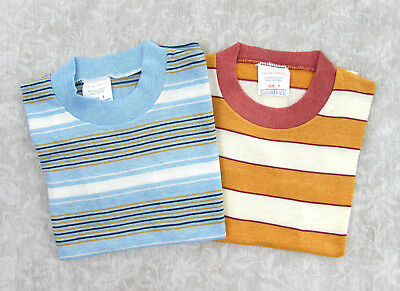 Vintage 60s Small Boys Striped T-shirts by ShirTees