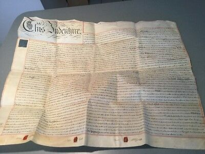 1813 1 page ENGLAND  Indenture  UK  Document -Shropshire Salop