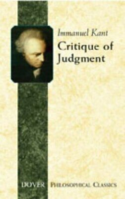 Critique of Judgement: 17 (Dover Philosophical Cl... by Kant, Immanuel Paperback