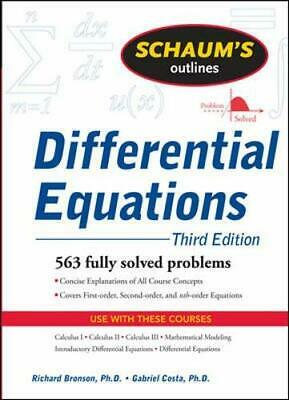 Schaum's Outline of Differential Equations, 3ed... by Bronson, Richard Paperback