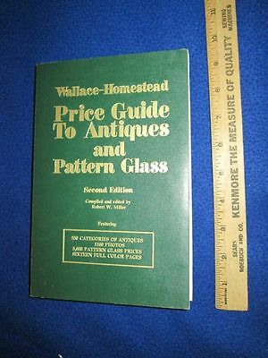 1974 2nd Ed. Price Guide to Antiques and Pattern Glass Paperback Book