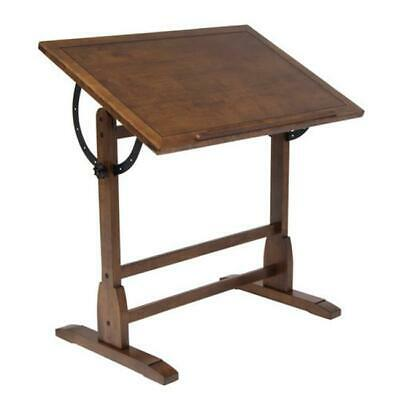 Studio Designs 13304 Vintage Drafting Table - Rustic Oak