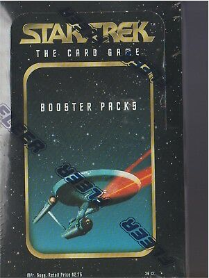 Star Trek Factory Sealed Box 36 Boosters/Packs CCG