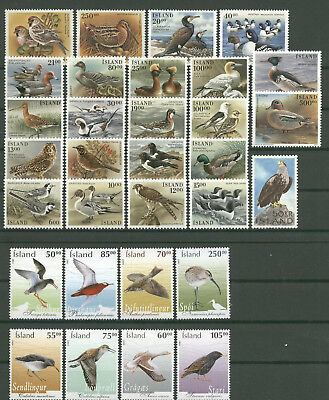 Tiere, Animals, Vögel, Birds - Island - LOT ** MNH