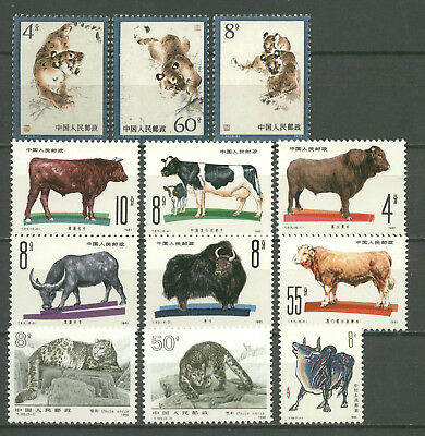 Tiere, Animals - China - LOT ** MNH !
